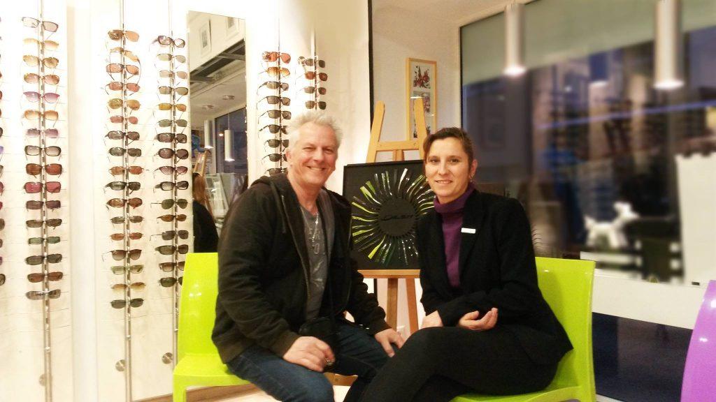 L 39 art et l 39 optique se rencontrent la fare les oliviers optique farese opticien sur salon - Opticien salon de provence ...