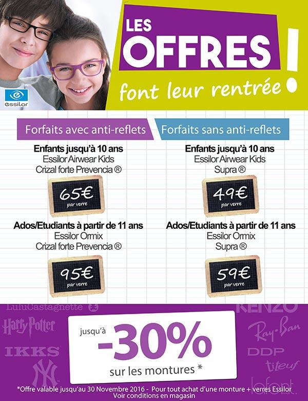 Offre rentree optique farese salon optique farese opticien sur salon de provence - Opticien salon de provence ...