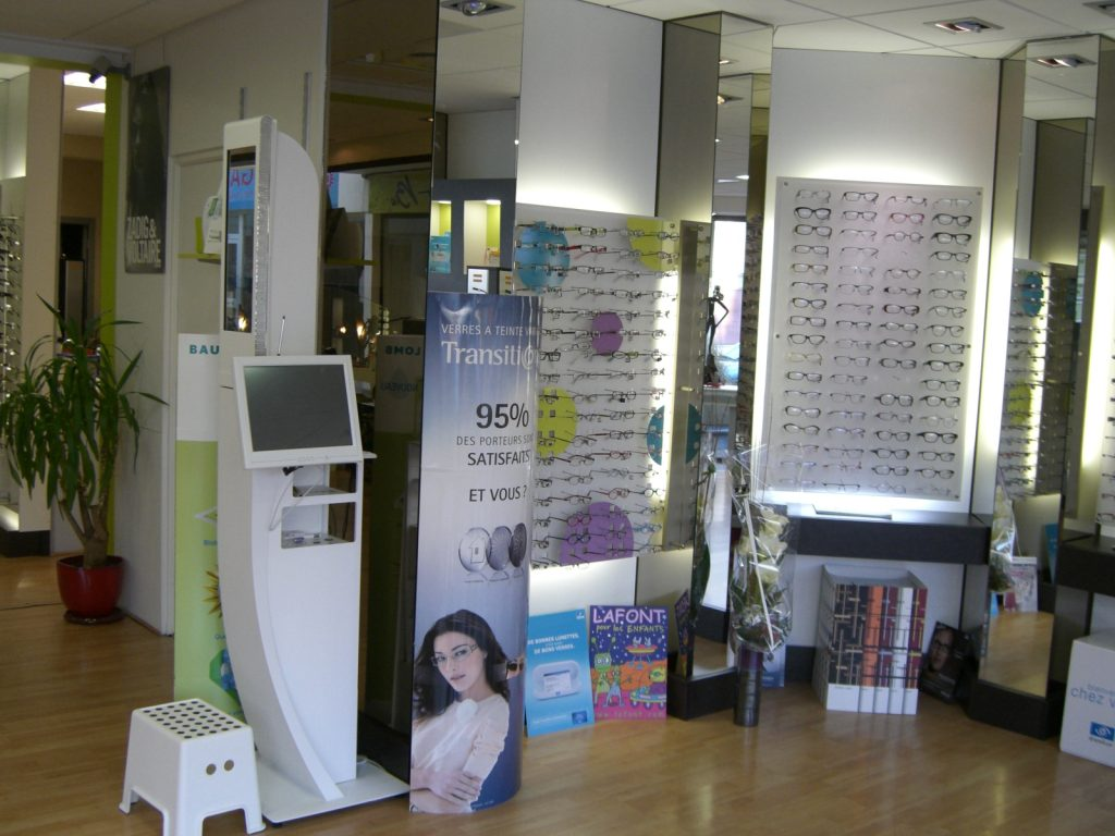 magasin d'optique istres